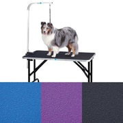 Master Equipment Dog Grooming Table w/ Arm; 33'' H x 18'' W x 30'' L