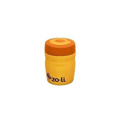 Zo-li Sumo Snack Stack Food Storage Container; Orange