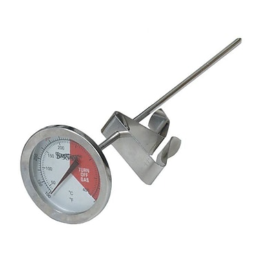 Bayou Classic Stainless Steel Thermometer; 5'' L