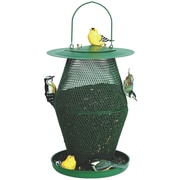 Sweet Corn Products Llc Lantern Caged Nyjer/Thistle Feeder; Green