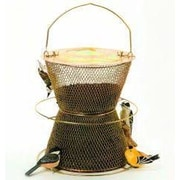 Sweet Corn Products Llc Hourglass Caged Nyjer/Thistle Feeder; Brass