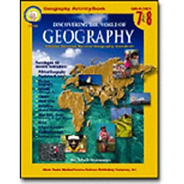 Carson Dellosa Publications Discovering The World of Geography Book