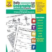 Evan-Moor Daily Geography Practice Grade 2 Book