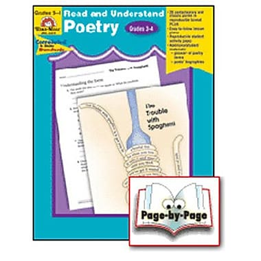 Evan-Moor Read and Understand Poetry Grade 3-4 Book