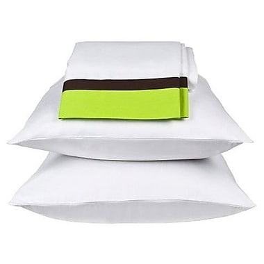 Bacati Valley of Flowers Sheet Set; Twin