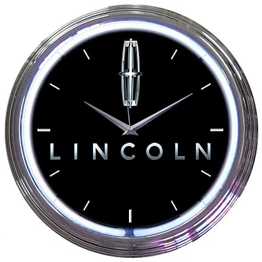 Neonetics 15'' Ford Lincoln Wall Clock