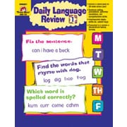 Evan-Moor Daily Language Review Grade 1 Book