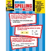Evan-Moor Building Spelling Skills Grade 5 Book