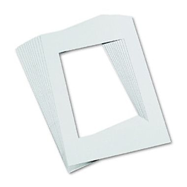 Pacon Creative Products Mat Frames 9 X 12 White