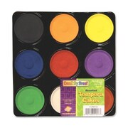 Chenille Kraft Tempera Paint Blocks , Non-Toxic, 9 Set, Assorted