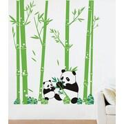 Pop Decors Pandas Love Bamboo Wall Decal