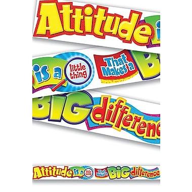 Trend Enterprises Attitude Is A Little Thing Classroom Border