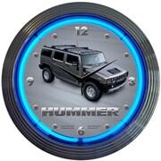 Neonetics 15'' Hummer Wall Clock
