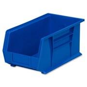 Akro Mils Bins, Unbreakable/Waterproof, 8-1/4''x14-3/4''x7'' Blue