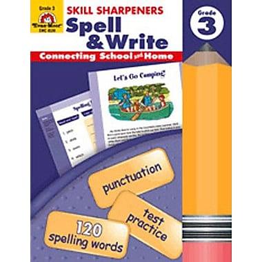 Evan-Moor Spell and Write Grade 3 Book