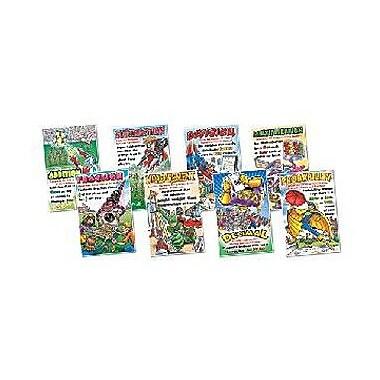 Northstar Teacher Resource Math Superheroes Poster Set