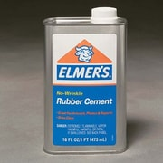 ELMER'S PRODUCTS, INC. Rubber Cement Can 16oz.