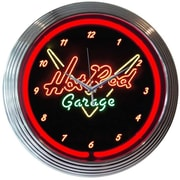 Neonetics 15'' Hot Rod Garage Wall Clock