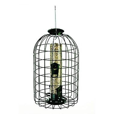 Audubon/Woodlink Squirrel Proof Caged Tube Bird Feeder