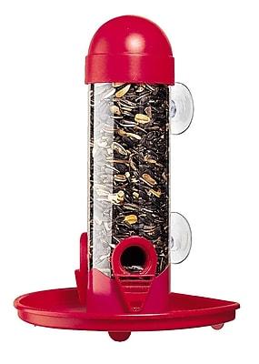 Woodstream Wildbird Window Tube Bird Feeder (WYF078277037032) photo