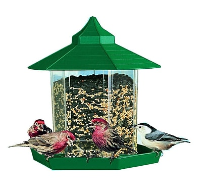 Woodstream Wildbird Wild Gazebo Hopper Bird Feeder (WYF078277049109) photo