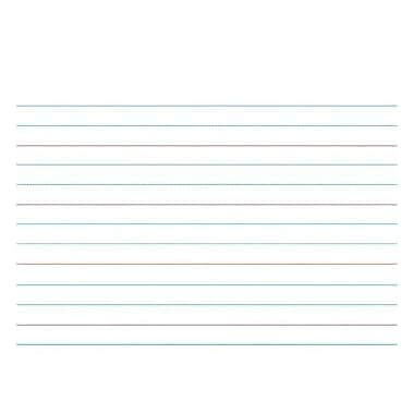 Carson Dellosa Publications Handwriting Paper Laminated Chart