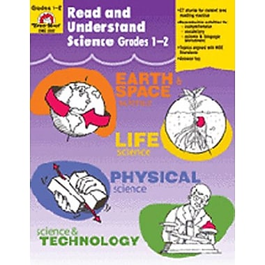 Evan-Moor Read and Understand Science Grade 1-2 Book