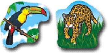 Carson Dellosa Publications Rainforest Animals Sticker