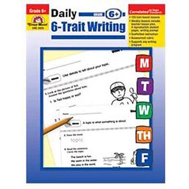 Evan-Moor Daily 6 Trait Writing Grade 6 Book
