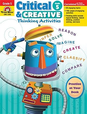 Evan-Moor Critical and Creative Thinking Book