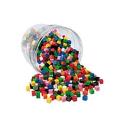 Learning Resources 500 Piece Centimeter Cubes 10 Colors