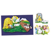 Little Folks Visuals 3 Nursery Rhymes Bulletin Board Cut Out Set (Set of 3)