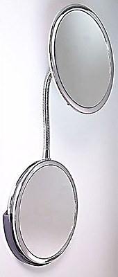 Zadro Goose Neck Vanity and Wall Mirror WYF078276307465