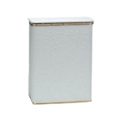 Redmon Traditional Times Laundry Hamper; Silver