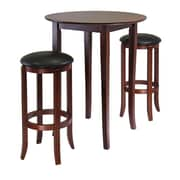 Winsome Fiona 3 Piece Pub Table Set