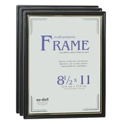 Nu-Dell Document Plastic Picture Frame (Set of 3)