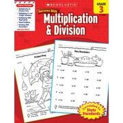 Scholastic Scholastic Success Multiplication Book