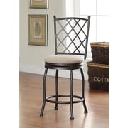 HomePop Tristan 24'' Swivel Bar Stool