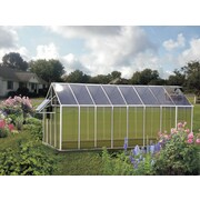 Riverstone Industries Corporation Monticello Mojave 8.1 Ft. W x 16.3 Ft. D Greenhouse; Aluminum