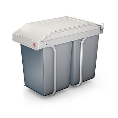 Hailo USA Inc. Multi Box 3.7 Gallon Trash Can