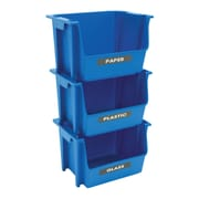 United Solutions Nesting Stacking Recycle Bin