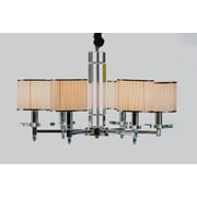 Kokols 6-Light Shaded Chandelier