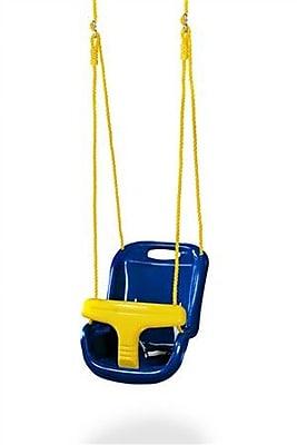 Gorilla Playsets High Back Infant Swing; Blue