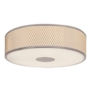 TransGlobe Lighting Diamond Grill 4-Light Flush Mount