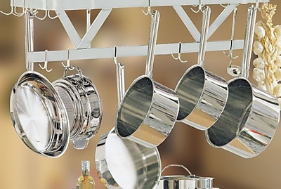 A-Line by Advance Tabco Ceiling Pot Rack; 12'' H x 72'' W x 22'' D