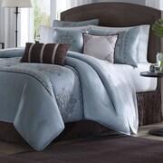 Madison Park Brussel 7 Piece Comforter Set; Queen