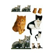 Brewster Home Fashions Euro Freestyle Kitty Wall Decal