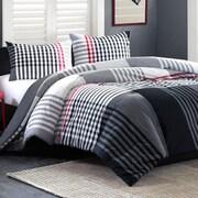 Ink + Ivy Blake Reversible Comforter Set; Full/Queen