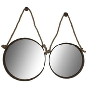 Cheungs 2 Piece Hanging Wall Mirror Set