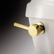 Elements of Design South Beach Toilet Tank Lever; Polished Brass